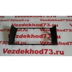 Накладка консоли центральная (облицовка панели приборов верхняя) УАЗ PATRIOT (с 11.2016) В СБОРЕ / 31639-5325180