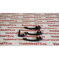 Ручка двери боковой наружная УАЗ 452, 3741, 2206, 3962 с ключом ЕВРО (к-т 4 шт.) ЮБИЛЕЙНАЯ СЕРИЯ / 3741-00-6105149