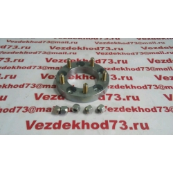 Расширитель колеи (проставка ступичная) сталь + шпильки,гайки