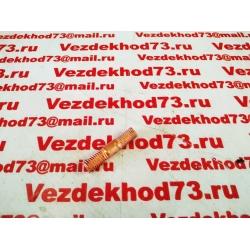 Шпилька коллектора УАЗ короткая М10*1*30 (омедненная)  / 420.1008202(291797-П5)