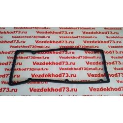 Прокладка клапанной крышки (коромысел) УАЗ дв.409, ГАЗ дв.405, 406 (резина)  / 406-1007245-01