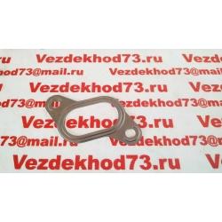 Прокладка коллектора УАЗ дв.409, ГАЗ дв.405, 406 ВЫПУСКНОГО (металл.) / 406.1008027-01