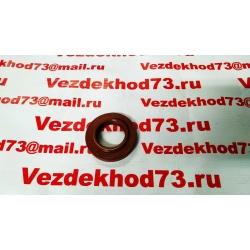 Сальник хвостовика 42х75-16,4 УАЗ HUNTER, PATRIOT, 3160, 3162 (Рыжий, 2 пружины)NBR / 3160-2402052-03