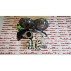 Дисковые тормоза с перфорированными дисками УАЗ гражданский передний мост (суп.ГАЗ)