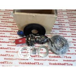 Дисковые тормоза УАЗ на гражданский передний мост (комплект)(суппорт Газель)