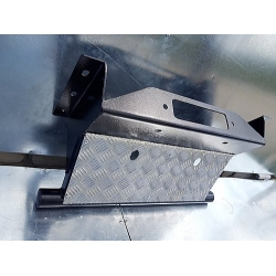Защита рулевых тяг с площадкой под лебедку на УАЗ Патриот и его модификации