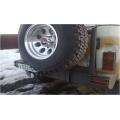 """Силовой бампер УАЗ  469 задний """"Таран"""" кронштейном крепления запасного колеса и """"колоколом"""" под запаску"""