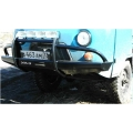 Бампер силовой передний на УАЗ 452 «Носорог» с кенгурином