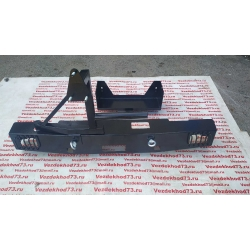Силовой бампер уаз Хантер 469 задний  ЧЕРОКИ с кронштейном запасного колеса