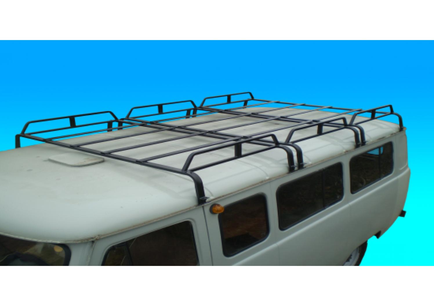 Как сделать багажник на буханку своими руками