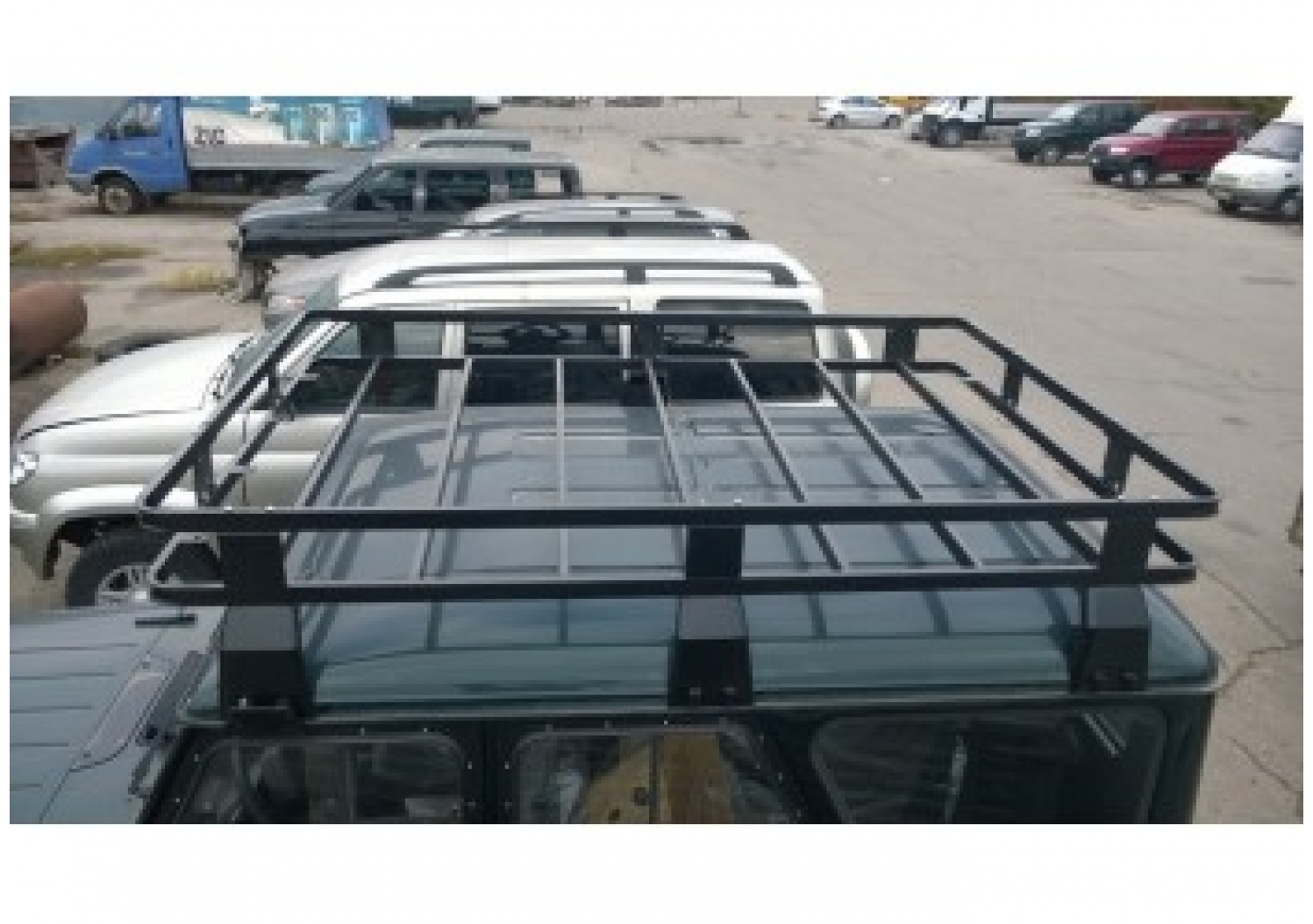 Багажник на крышу автомобиля своими руками на уаз хантер